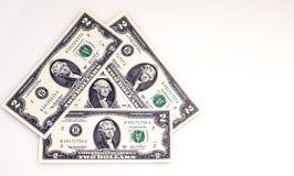 Малые долларовые банкноты Стоковые Фотографии RF