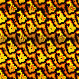 Малые покрашенные полигоны на картине красивой предпосылки безшовной Стоковое Изображение