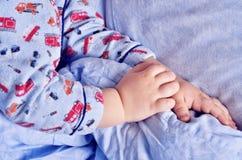 Малые сны ребенка Стоковое Изображение