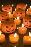 Малые тыквы игрушки хеллоуина Стоковое Фото