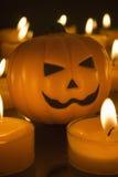 Малые тыквы игрушки хеллоуина Стоковая Фотография