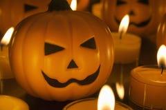 Малые тыквы игрушки хеллоуина Стоковые Изображения RF