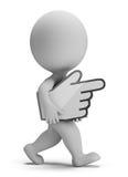 малые люди 3d - носит курсор руки бесплатная иллюстрация