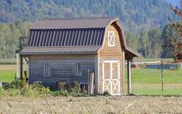 Малый амбар фермы хобби Стоковая Фотография