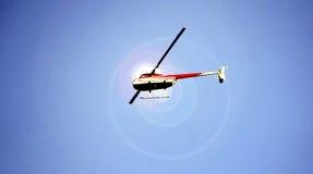 Малый вертолет 2 человек Стоковая Фотография