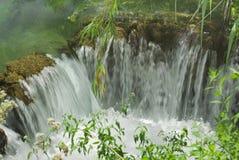 Малый водопад Krka Стоковое Изображение RF