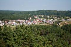 Малый город Стоковое Фото