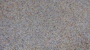 Малый гравий на конкретной предпосылке текстуры Стоковая Фотография RF