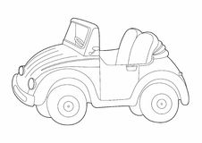 Малый дизайн автомобиля Стоковые Изображения