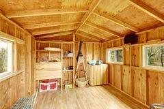 Малый интерьер дома на дереве Стоковая Фотография RF