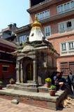 Малый индусский висок в Patan Стоковые Фотографии RF