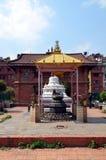 Малый индусский висок в Patan Стоковое Фото