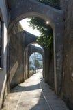 Малый итальянский городок 7 взморья Стоковые Фото