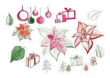 Малый комплект на ваши праздники Стоковые Изображения