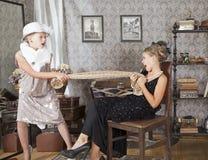 Малый конфликт для платья Стоковая Фотография