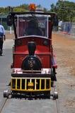 Малый красный двигатель поезда Стоковое Изображение RF