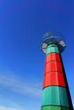 Малый маяк в Santurtzi Стоковая Фотография