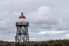 Малый маяк в Scheveningen Стоковая Фотография RF