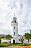 Малый маяк на набережной в Батуми, весне Стоковое Фото