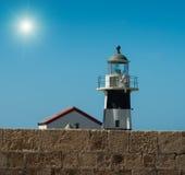 Малый маяк Стоковое Фото