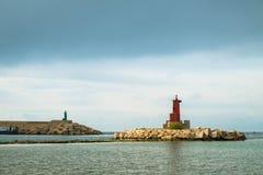 Малый маяк Стоковое Изображение