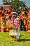 Малый мальчик в Асоме Стоковое Изображение RF