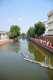 Малый мирный канал в Бангкоке Таиланде 0014 Стоковое Изображение RF
