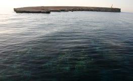 Малый необжитый остров, Красное Море Стоковые Фотографии RF