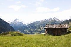 Малый парк Hohe Tauern сарая, Австрия Стоковая Фотография