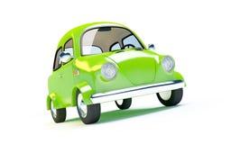 Малый ретро автомобиль Стоковая Фотография