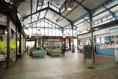 Малый рынок в Bergerac Франции Стоковое Изображение