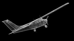 Малый самолет волынщика Стоковые Фотографии RF