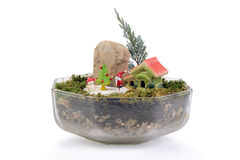 Малый сад для рождества Стоковые Фото