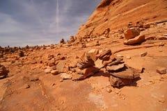 Малый свод сделанный утесов в пустыне Стоковые Фотографии RF