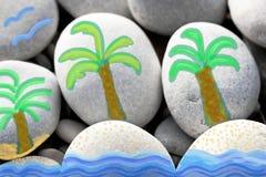 Малый тропический остров Стоковые Фотографии RF