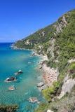 Малый тропический пляж стоковое фото