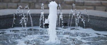 Малый фонтан в парке Стоковые Фотографии RF