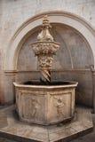 Малый фонтан Onofrio Стоковое фото RF