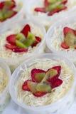Малый фруктовый салат стоковые фото