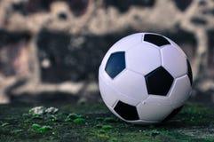 Малый футбольный мяч Стоковое фото RF