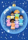 Малый хор ангелов Стоковые Фото
