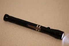Малый черный электрофонарь Стоковое Фото