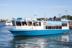 Малый Чэпмен пассажирского корабля эксплуатируемый JT-линией стоковое изображение rf
