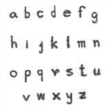 Малый шрифт сбора картины Стоковое Изображение RF