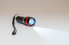 Малый электрофонарь приведенный на белой предпосылке Стоковые Изображения RF