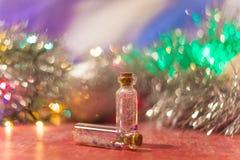 2 малых декоративных бутылки Стоковое фото RF