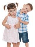 2 малых дет моды совместно Стоковое Изображение