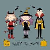 малыши halloween costume бесплатная иллюстрация