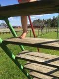 Малыш играя малыша Стоковое Изображение RF