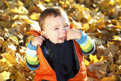 Малыш, портрет, плача стоковые изображения rf